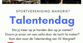 Talentendag S.V. Margriet 2019